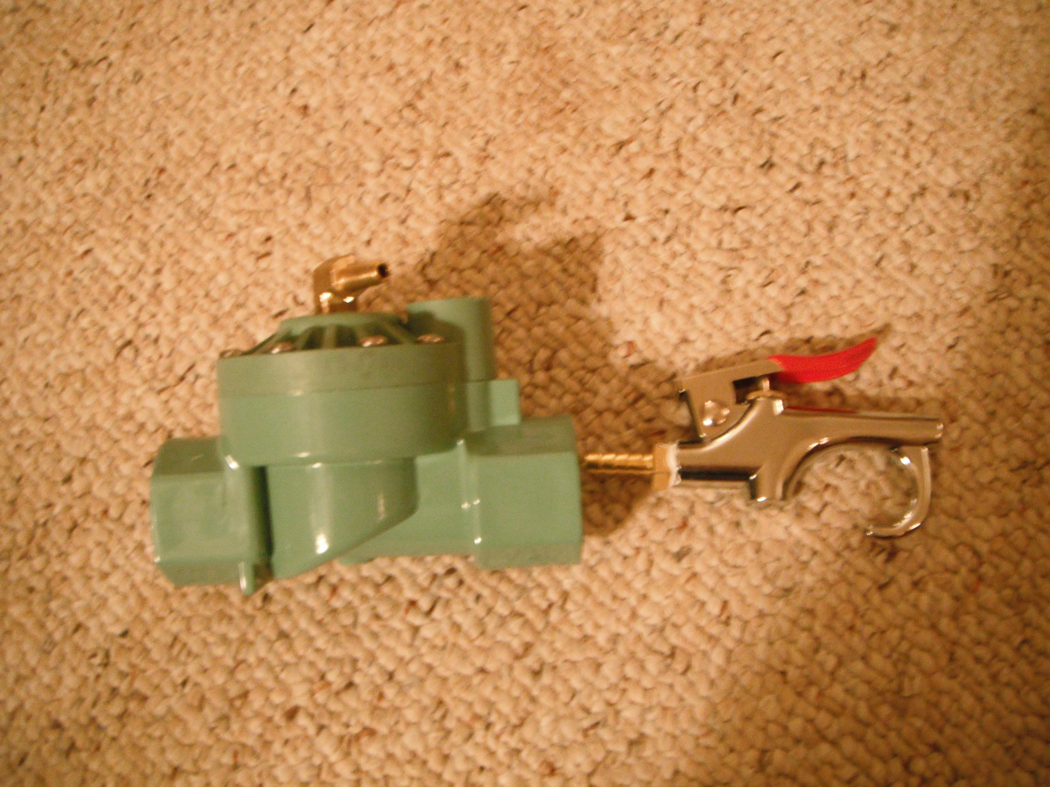 Picture of Adding the Sprinkler Valve & Stock