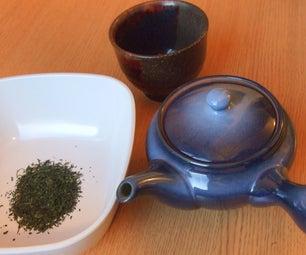 Brewing Sencha, a Japanese Green Tea