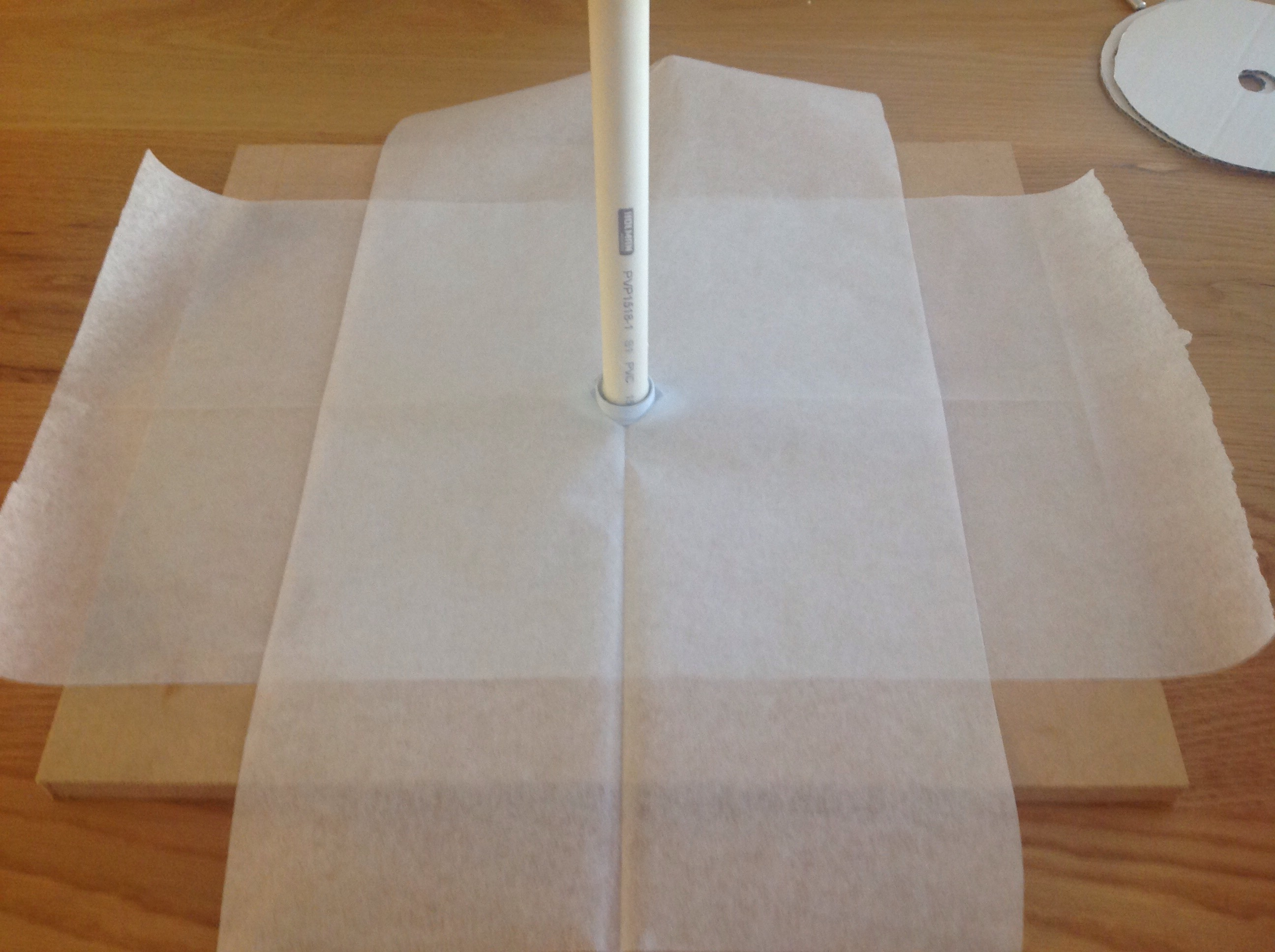 Picture of Cake Board and Dowels