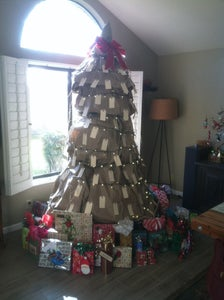 Shipping Supplies Tree