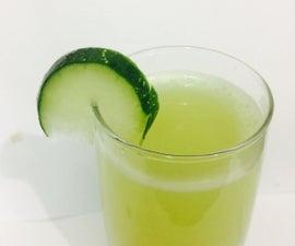 Homemade Cucumber Facial Mist
