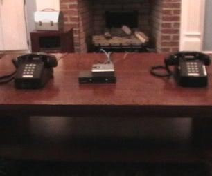 Hack a VOIP Box Into a Telephone Intercom