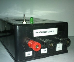 (Another) Regulated 5V Power Supply