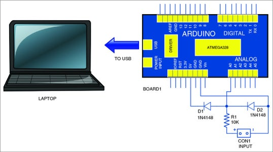 Connect Your Computer With Arduino and Insert the Program