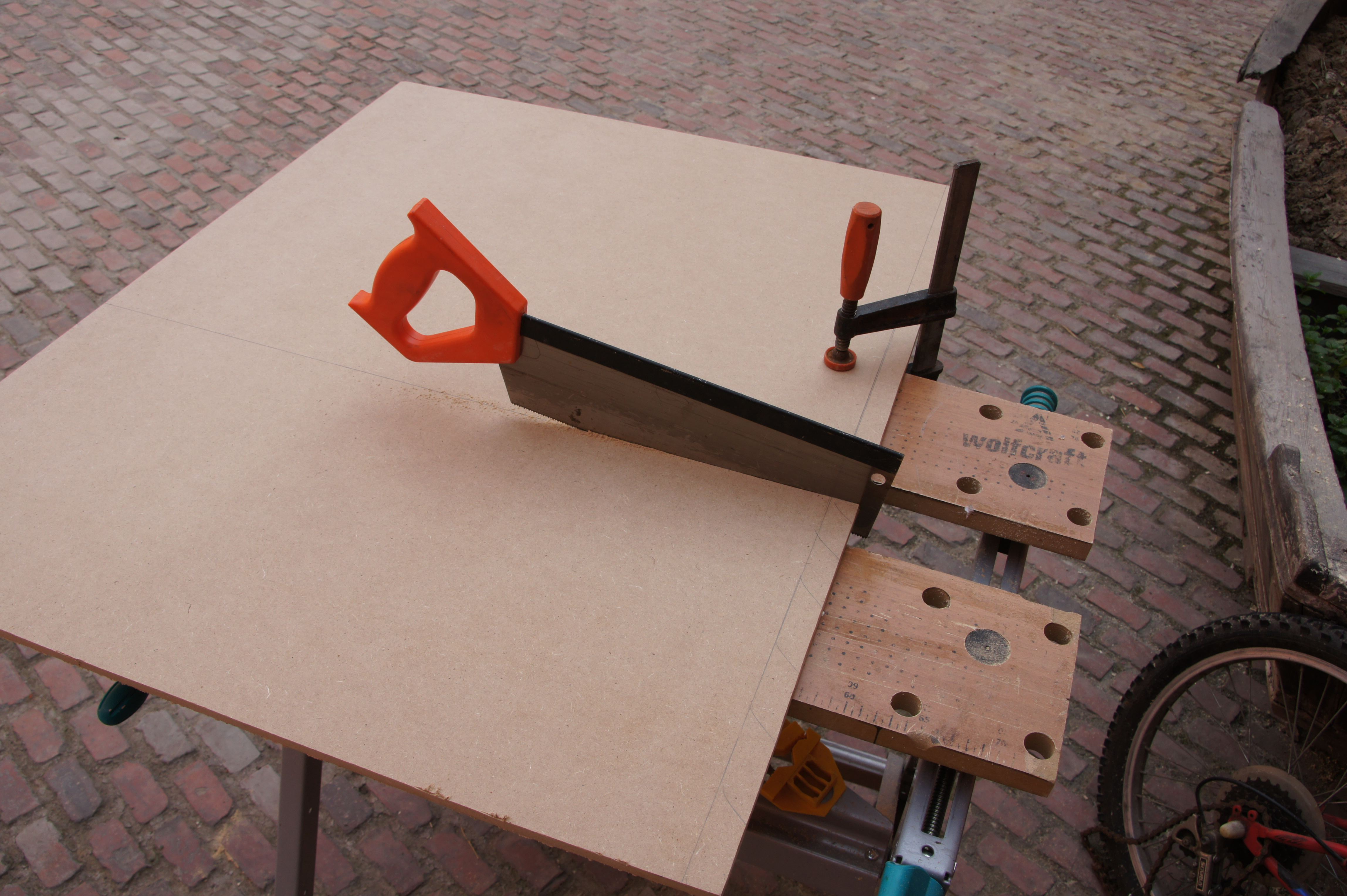 Picture of Planning and Cutting Material