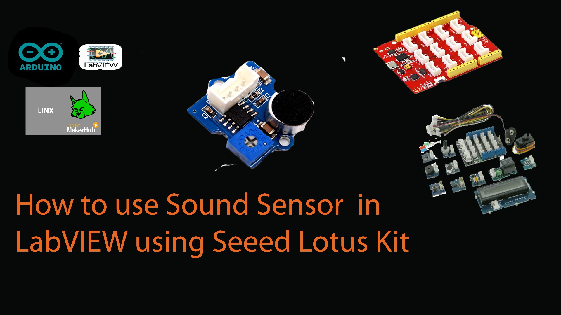 Picture of How to Use Sound Sensor With LabVIEW