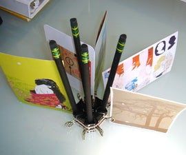 Pimped-Out Pencil & Photo Holder