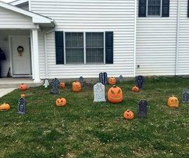 Jack O' Lantern Graveyard