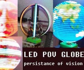 POV Globe 24bit true color and simple HW