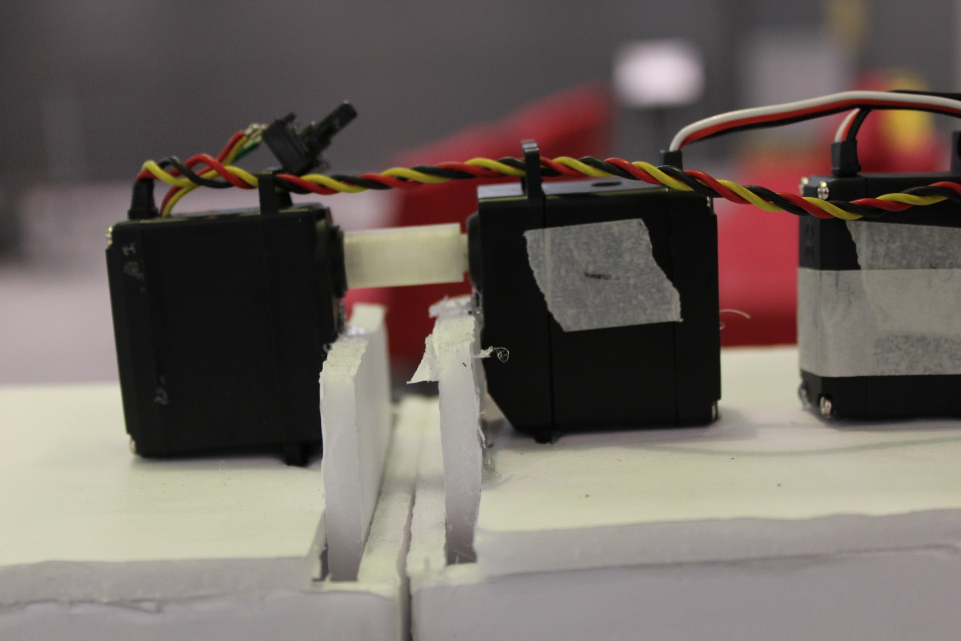 Picture of Friction Fit the Servo Couplers