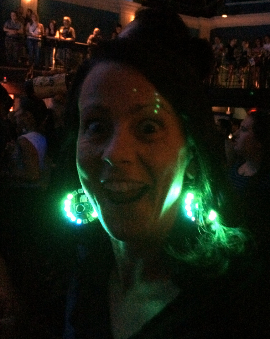 Picture of Sound-Reactive Earrings