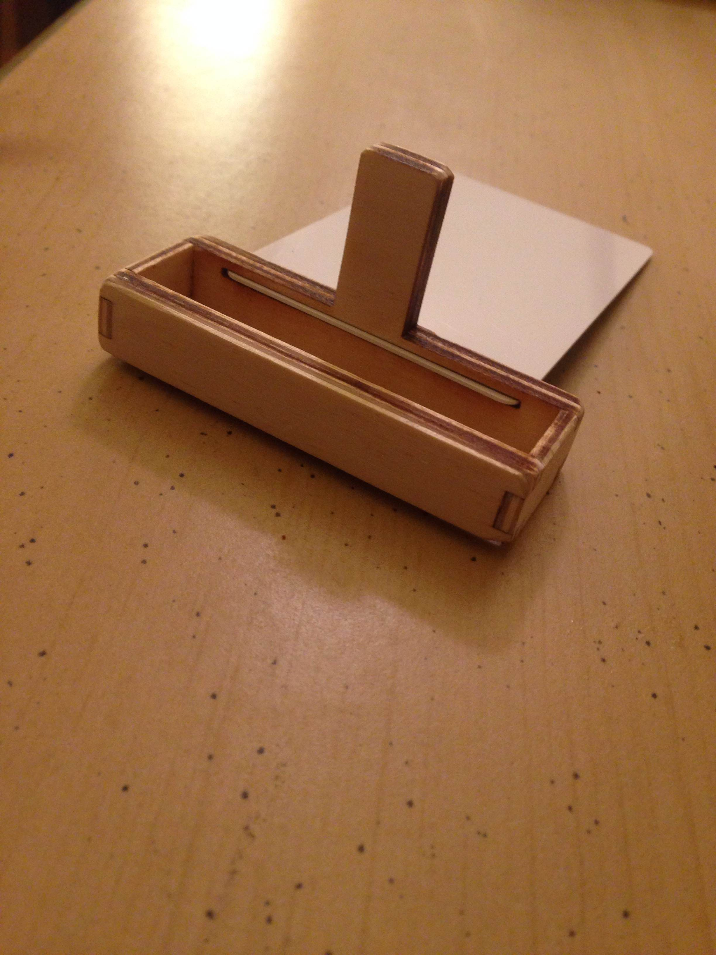Picture of How to Make a Laser-guided, Wooden Phone Stand