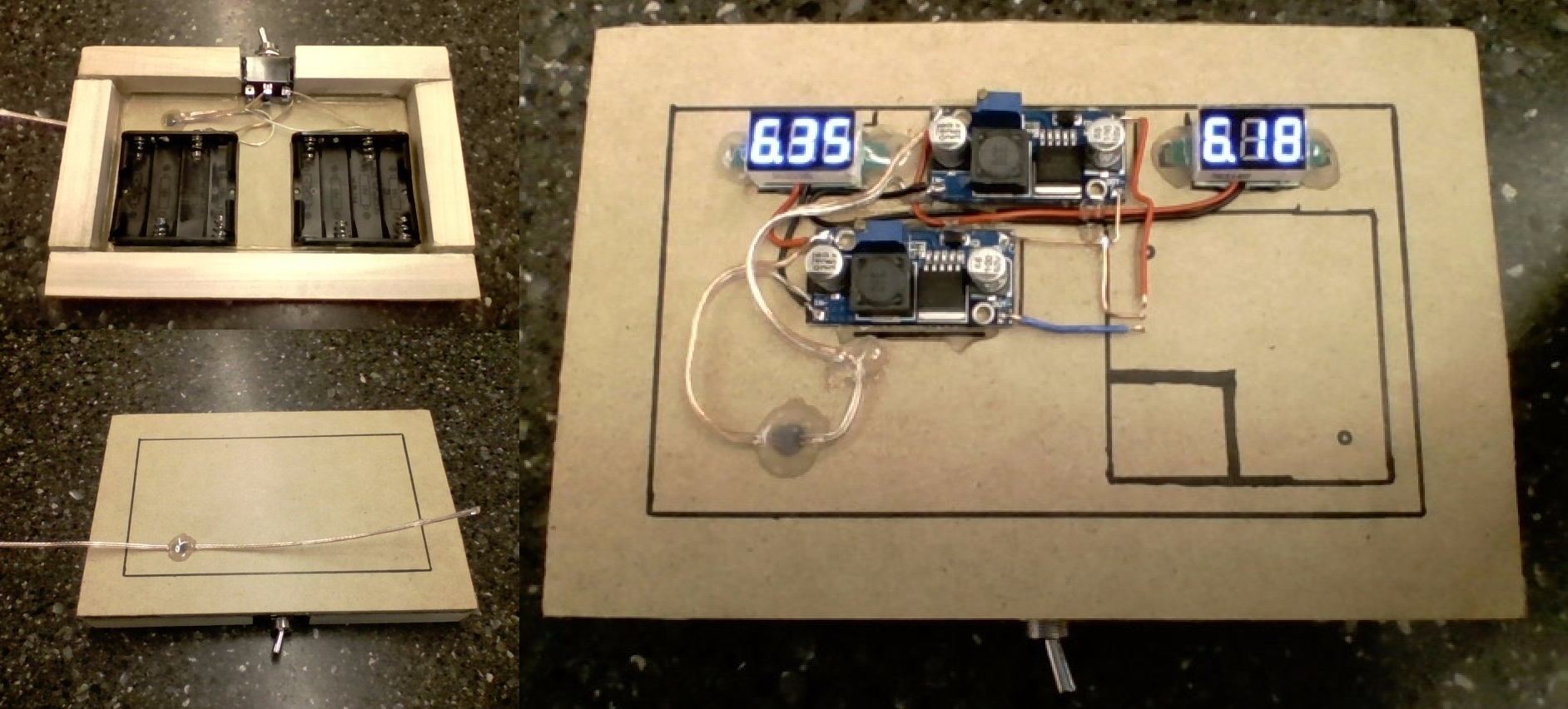 Picture of Power Supply Assembly and Testing