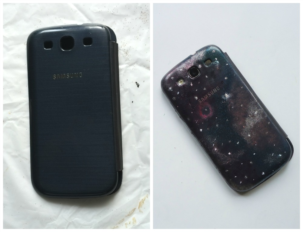Picture of Galaxy Printed Phone Case