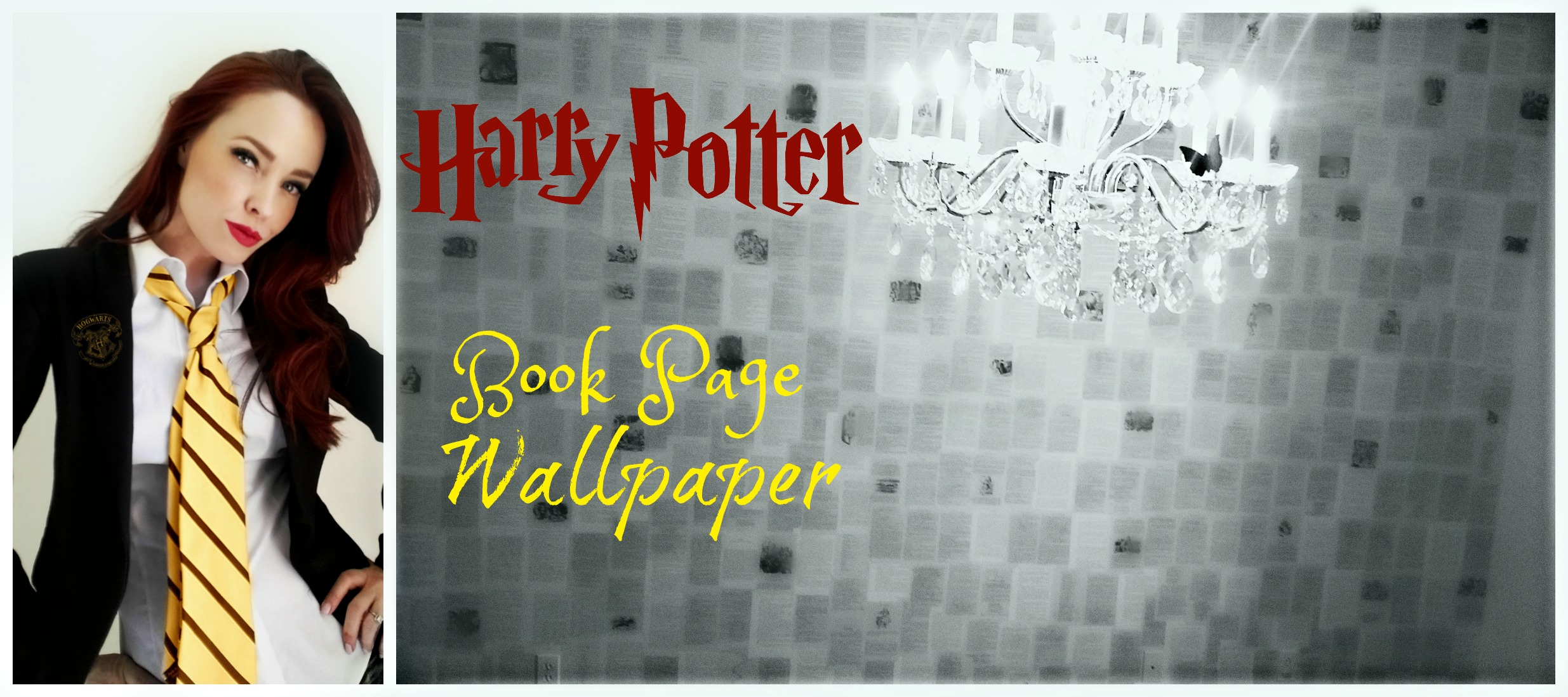 Picture of Harry Potter Pages Wallpaper