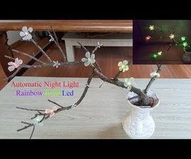 DIY Rainbow RGB Led Tree