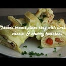 Chicken Breast Pizza Ring With Limburger Cheese  & Cherry Tomatoes Recipe