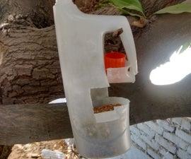 DIY Bird Feeder From Recycled Milk Jug