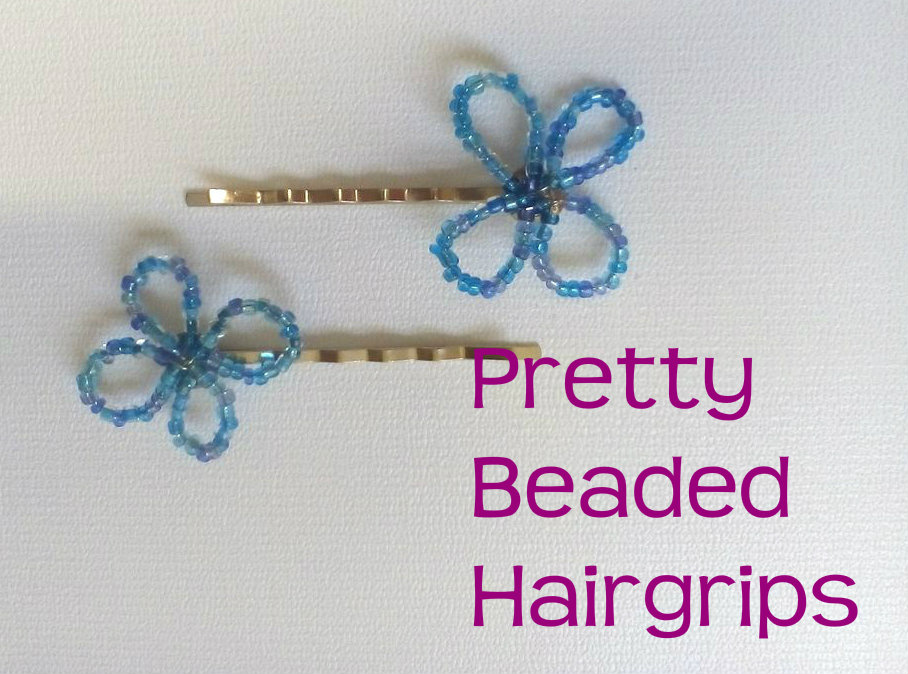 Picture of Beaded Hairgrips