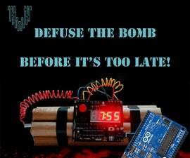 Defuse the Bomb Arduino Style