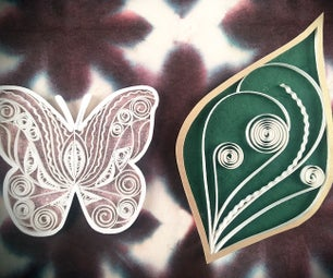 Twisted Quilling Leaf Tutorial | Butterfly Quilling Tutorial | Advanced Quilling Video |3D Quilling