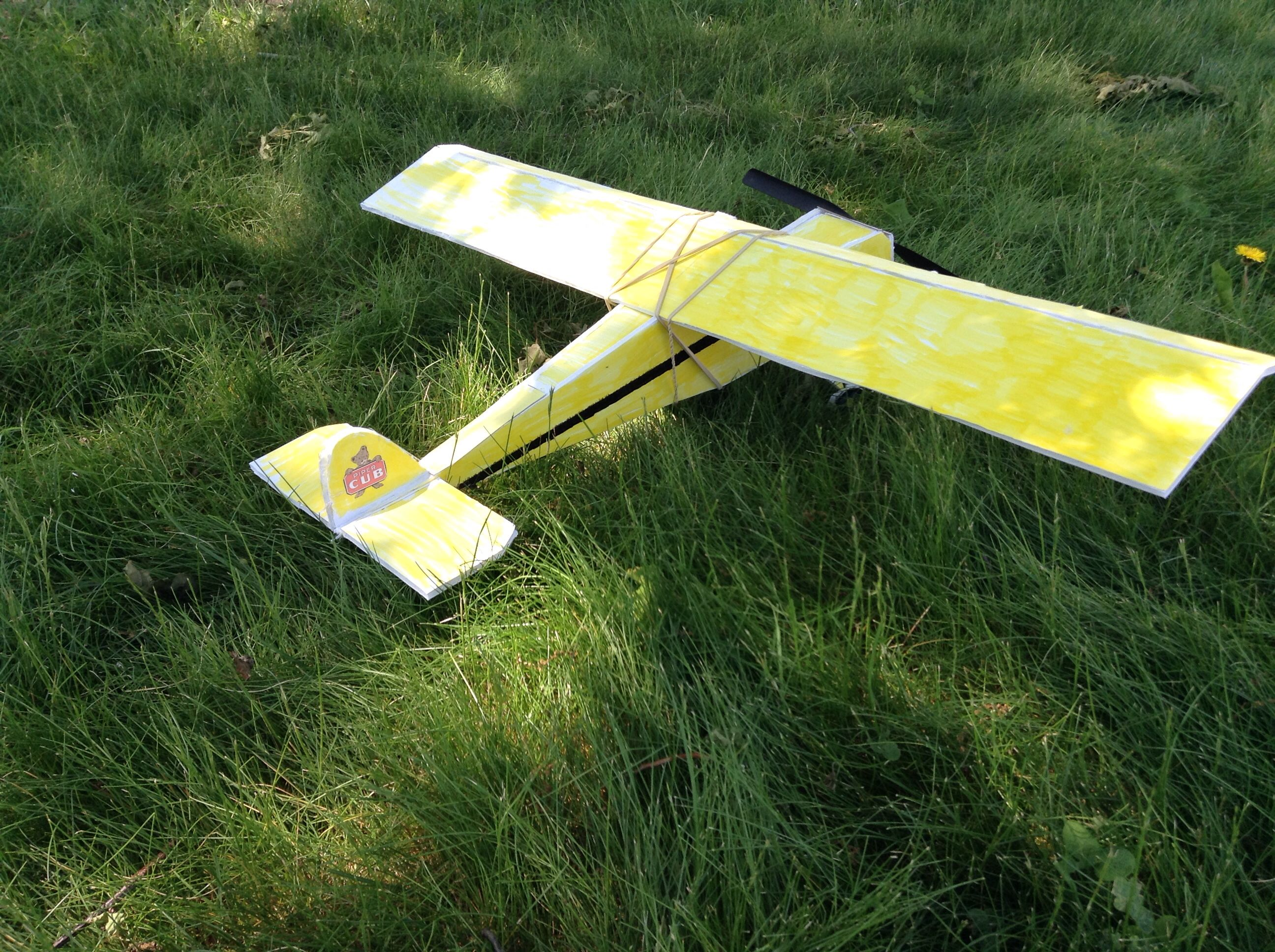 Picture of  Rubber Powered Piper Cub Model