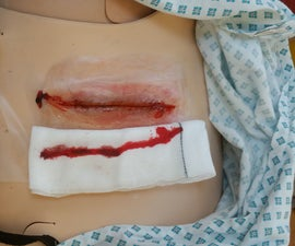 Reusable Latex Wounds Using a Mould