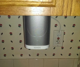 Sonos Play 1 Under-Cupboard Mount
