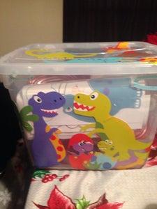 The Dinosaur Keeper Bin