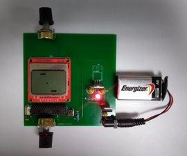 2 Player Pong PCB