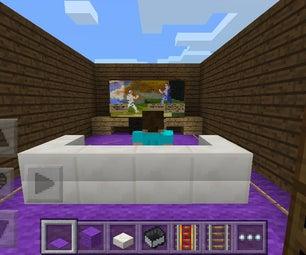 Minecraft Entertainment Room