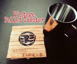 Vintage Pallet Coaster