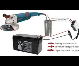 New DIY Idea to Run Universal Motor POWER TOOLS Without Electricity