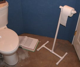 Cheap and Easy Toilet Paper Stand