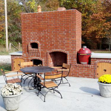 Picture of Outdoor Fireplace