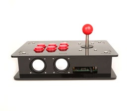 Acrylic DIY Retro Game Arcade Kit Assemble Tutorial