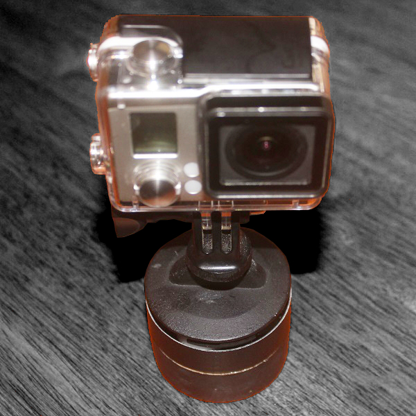 Picture of Panning Timelapse Rig From a Kitchen Timer