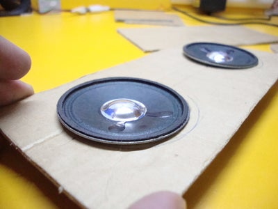 Make Hole for the Speakers