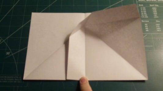 Width and Corner Folding; Security Fold Preparation