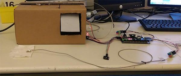 Small Solar Room Temperature Regulator