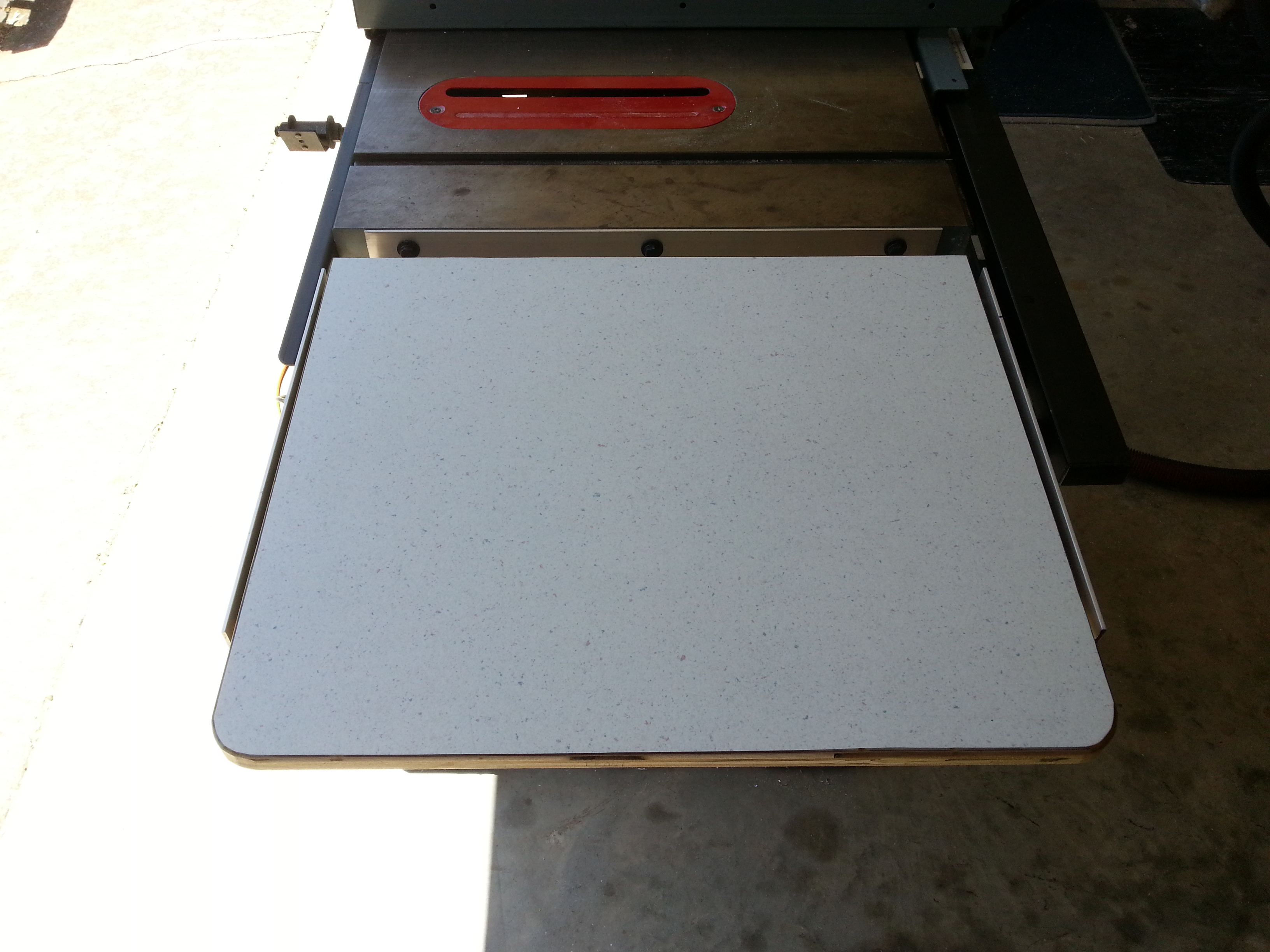Picture of Locate the Jig Saw, Route the Underside of the Table Top, and Attach