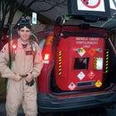 Epic Ghostbusters Costume and Trunk