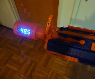 Arduino for Nerf: Chronograph and Shot Counter