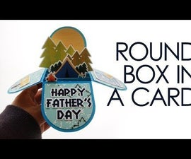 Make Your Own Rounded Pop-up Card