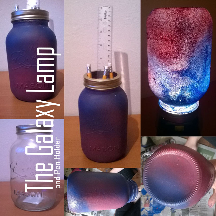Picture of Galaxy Lamp/Pencil Holder