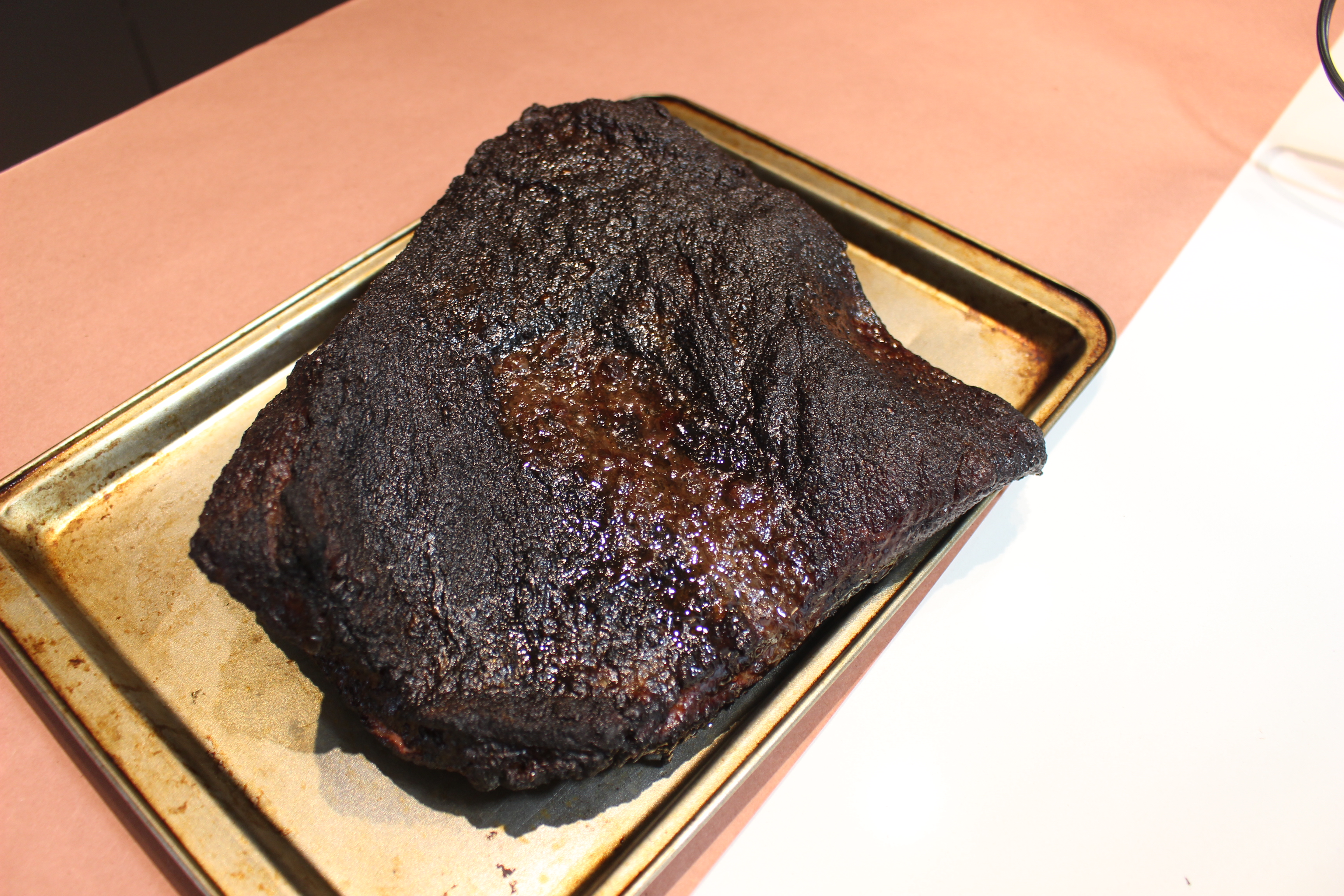 Picture of Wrapping the Brisket