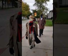 Invisible Man Illusion Costume