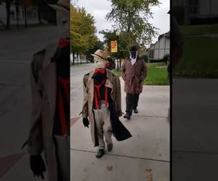 Invisible Man Illusion Costume