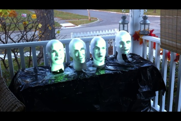 Picture of Arduino Powered Haunted Mansion Singing Busts