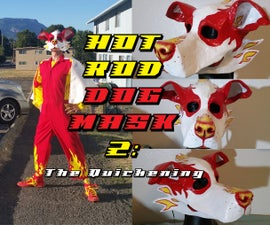 Hot Rod Dog Mask 2